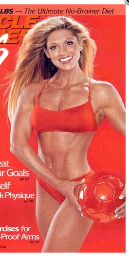 Kim Lyons, strong and sexy