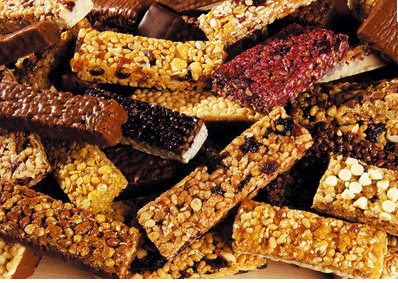 protein bars are mostly cookies or candy bars